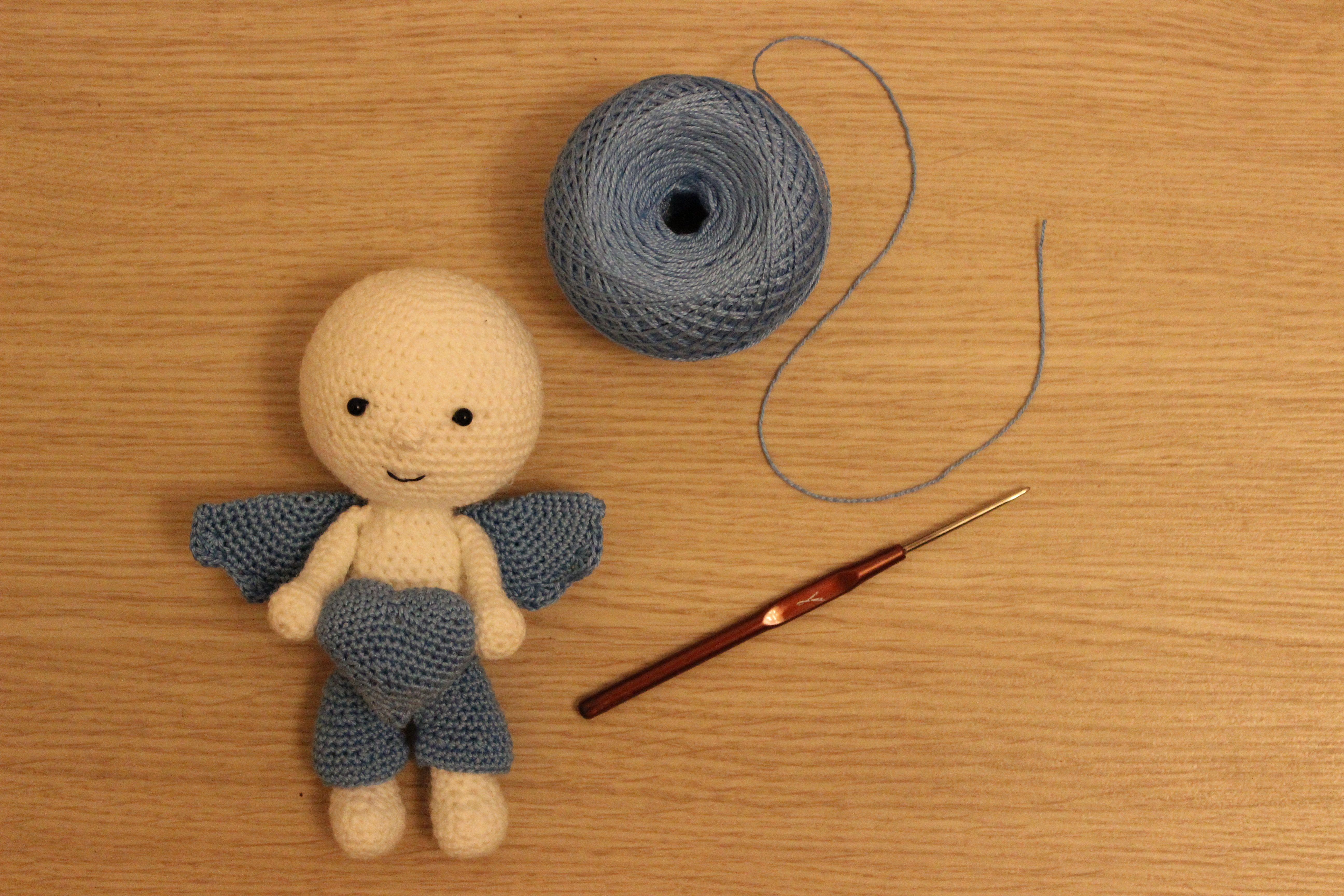 ангел крючком работа handmade детям ручная декор вязание игрушка