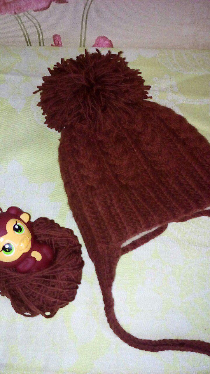 шапки вязание детям варежки зиму шарф хомут