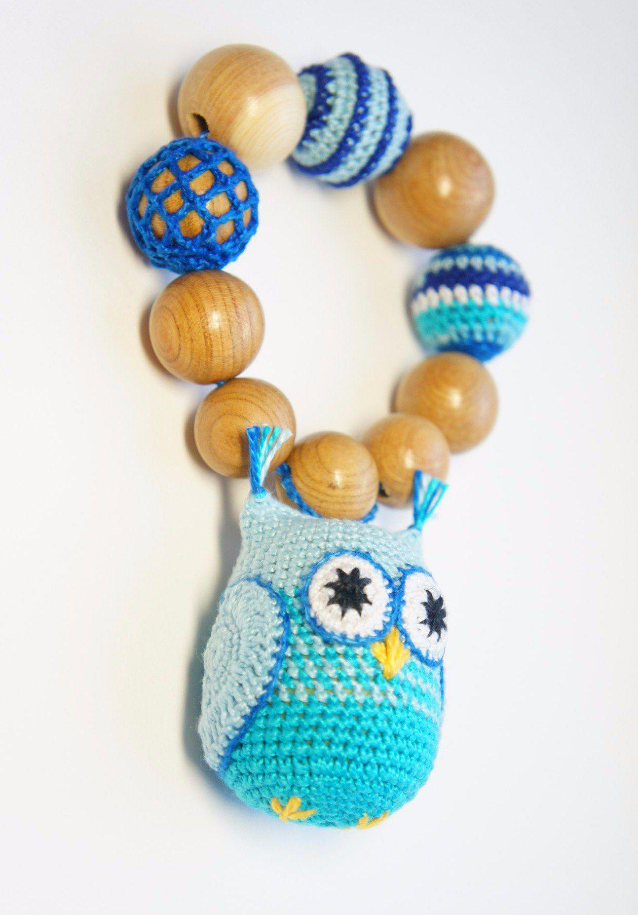 бусы игрушка подвеска мамабусы погремушка слингобусы дерево грызунок можжевельник кроватка коляска