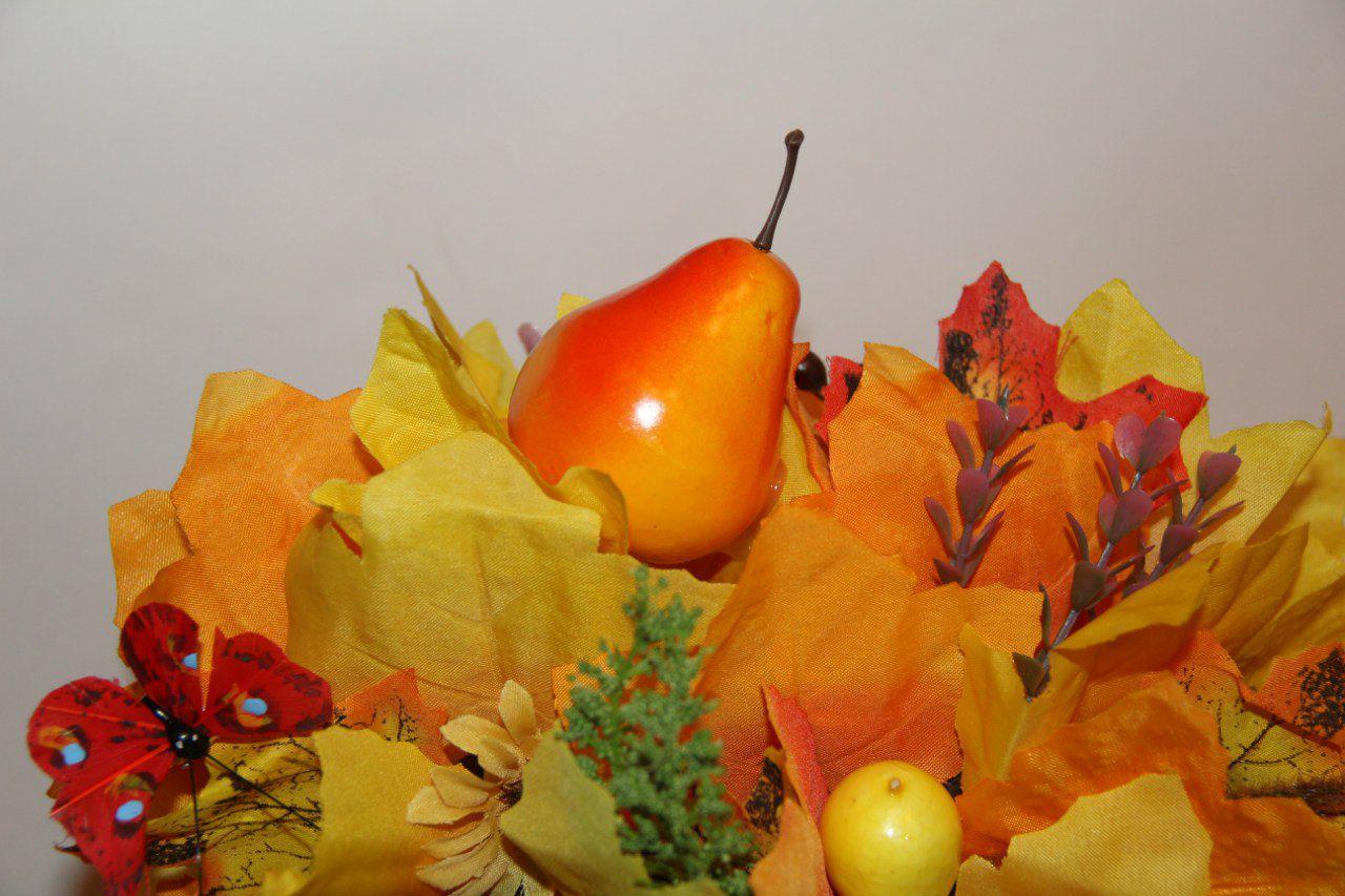 солнечный солнце топиарий желтый своимируками осень красный