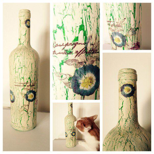 бутыль ручная декор декоративная интерьер работа
