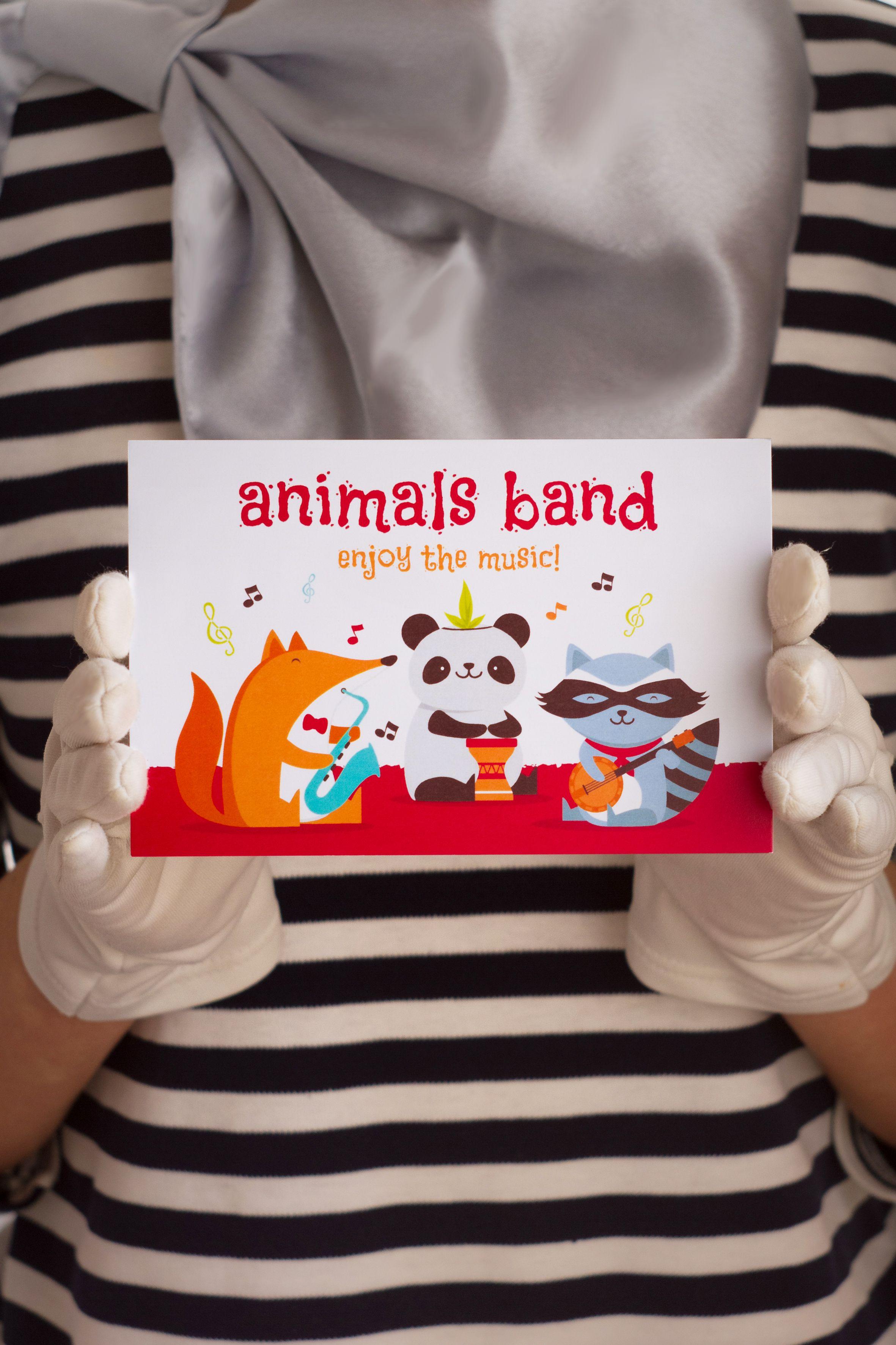 знаквнимания animalsband gift банда card сюрприз remembrance surprise открытка животные подарок