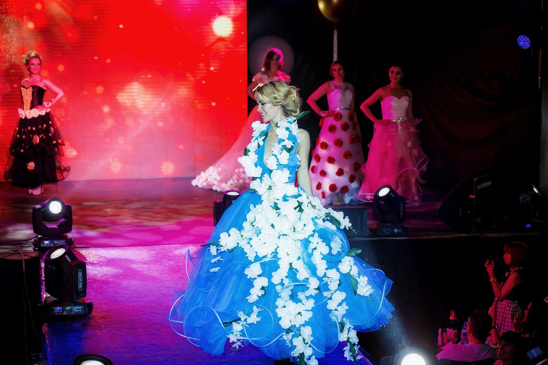 платье голубоеплатье