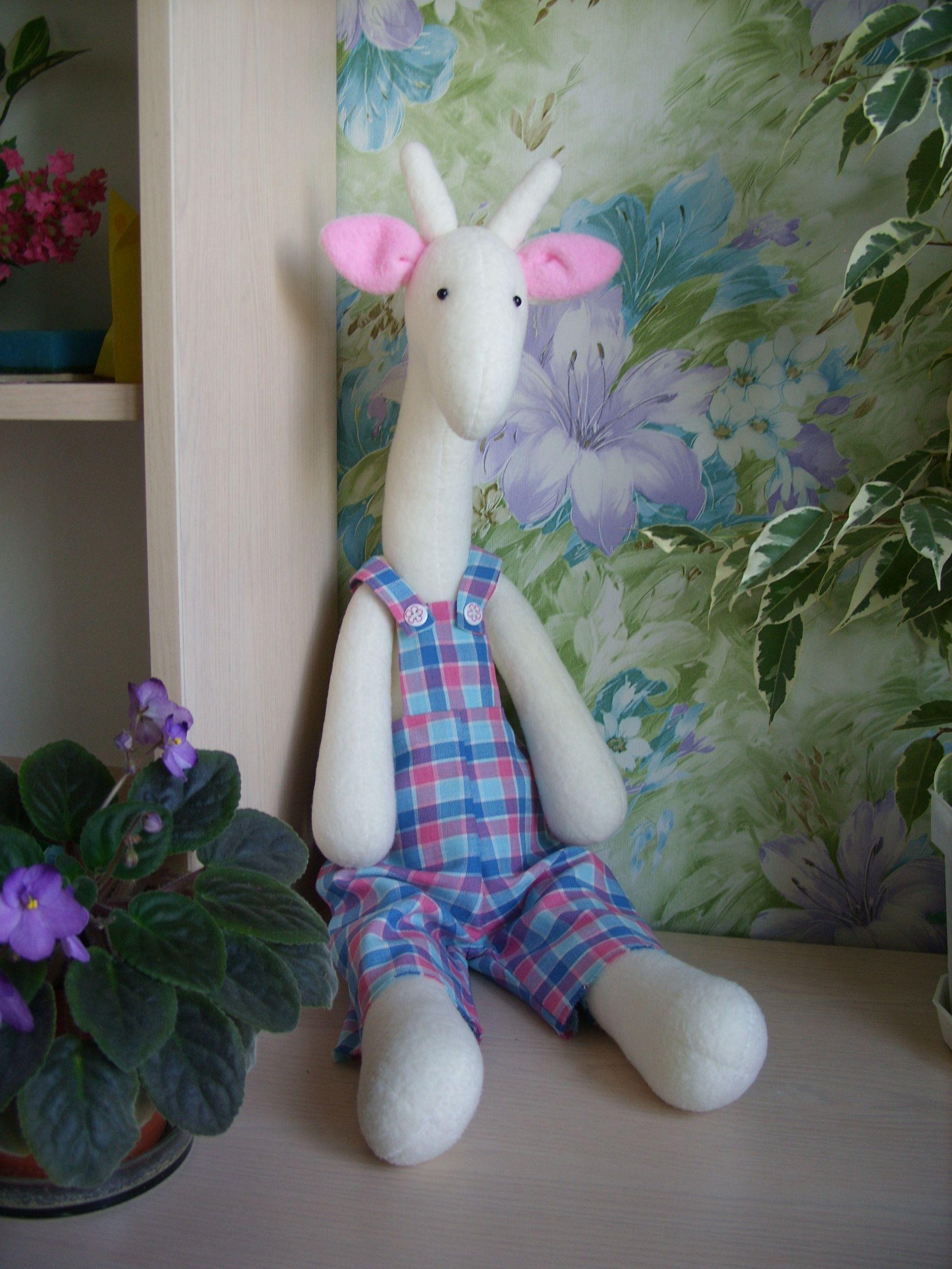 тильдажираф игрушка флис жираф мягкаяигрушка тильда длядевочки подарок