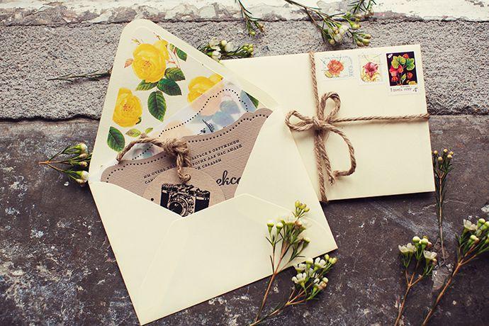 приглашения открытки идеи свадьба