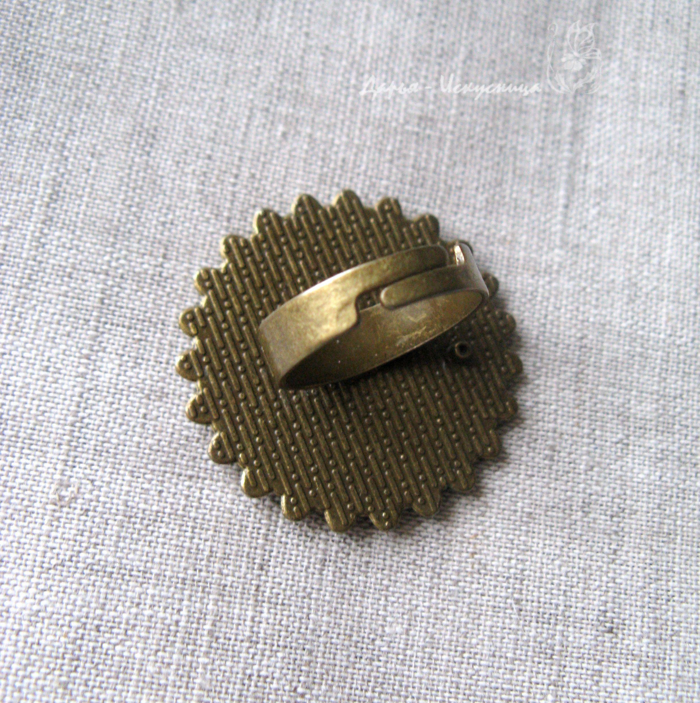 авторскоеукрашение handmade кольцо роспись авторское подарок ручнаяработа