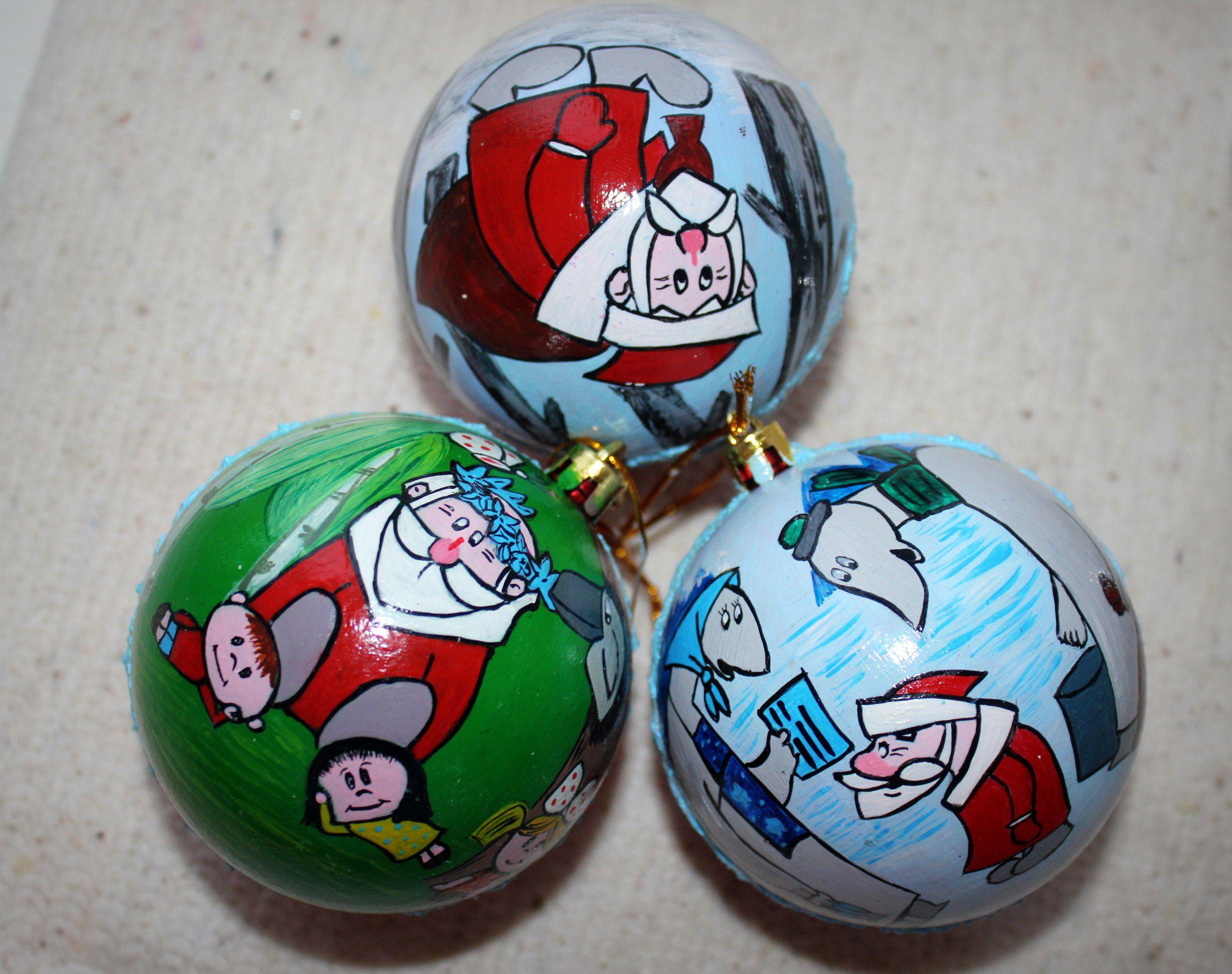 шары елочныеукрашения советскиемультики новыйгод праздник елка дедмороз дедморозилето ёлочныеигрушки