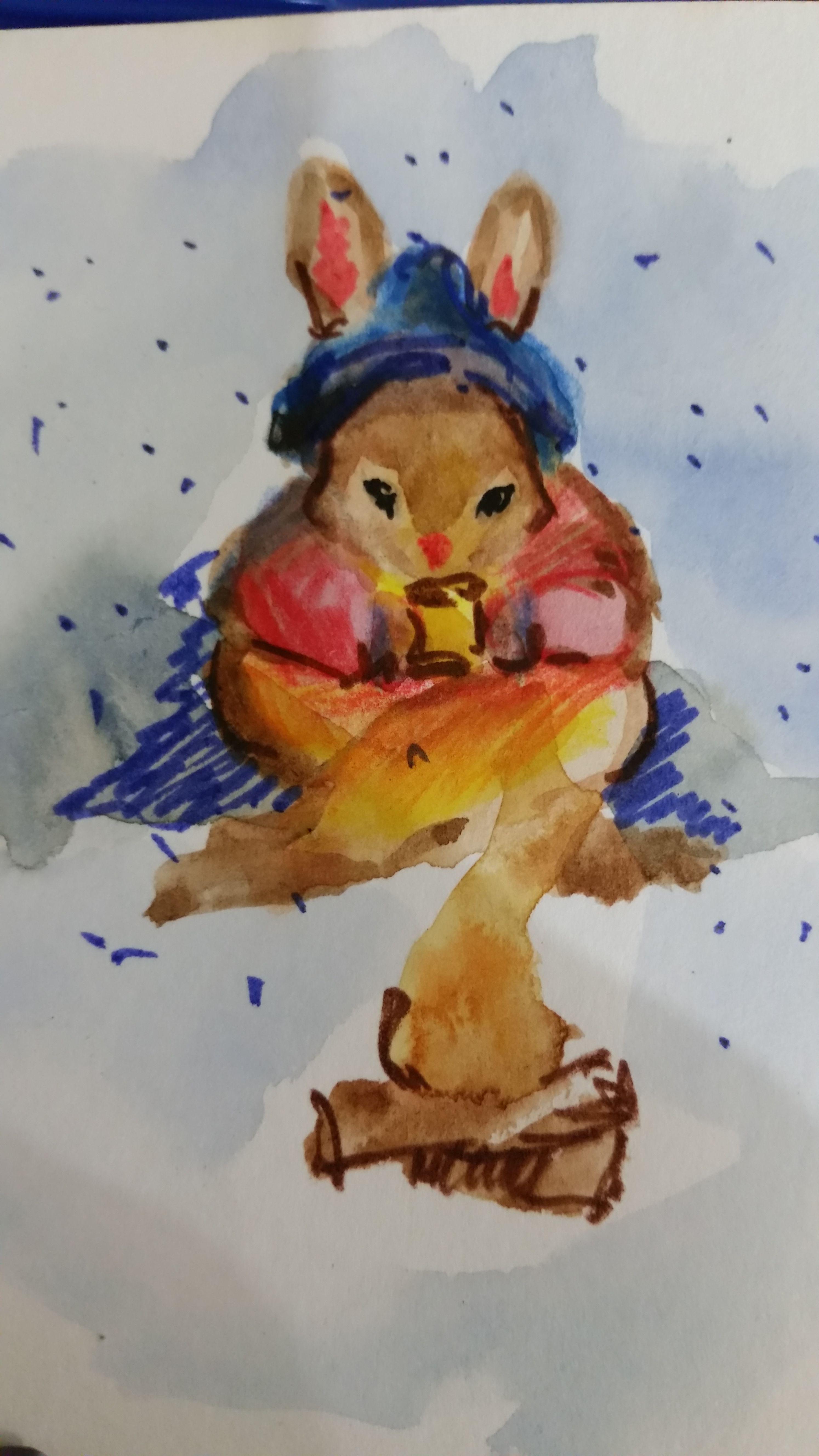 открыткакролики