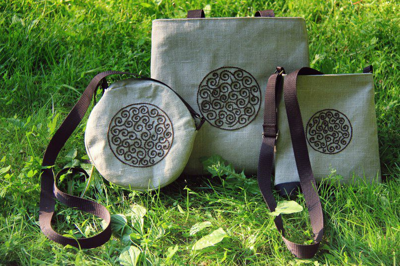 этно бохо дизайн сумки шитье творчество