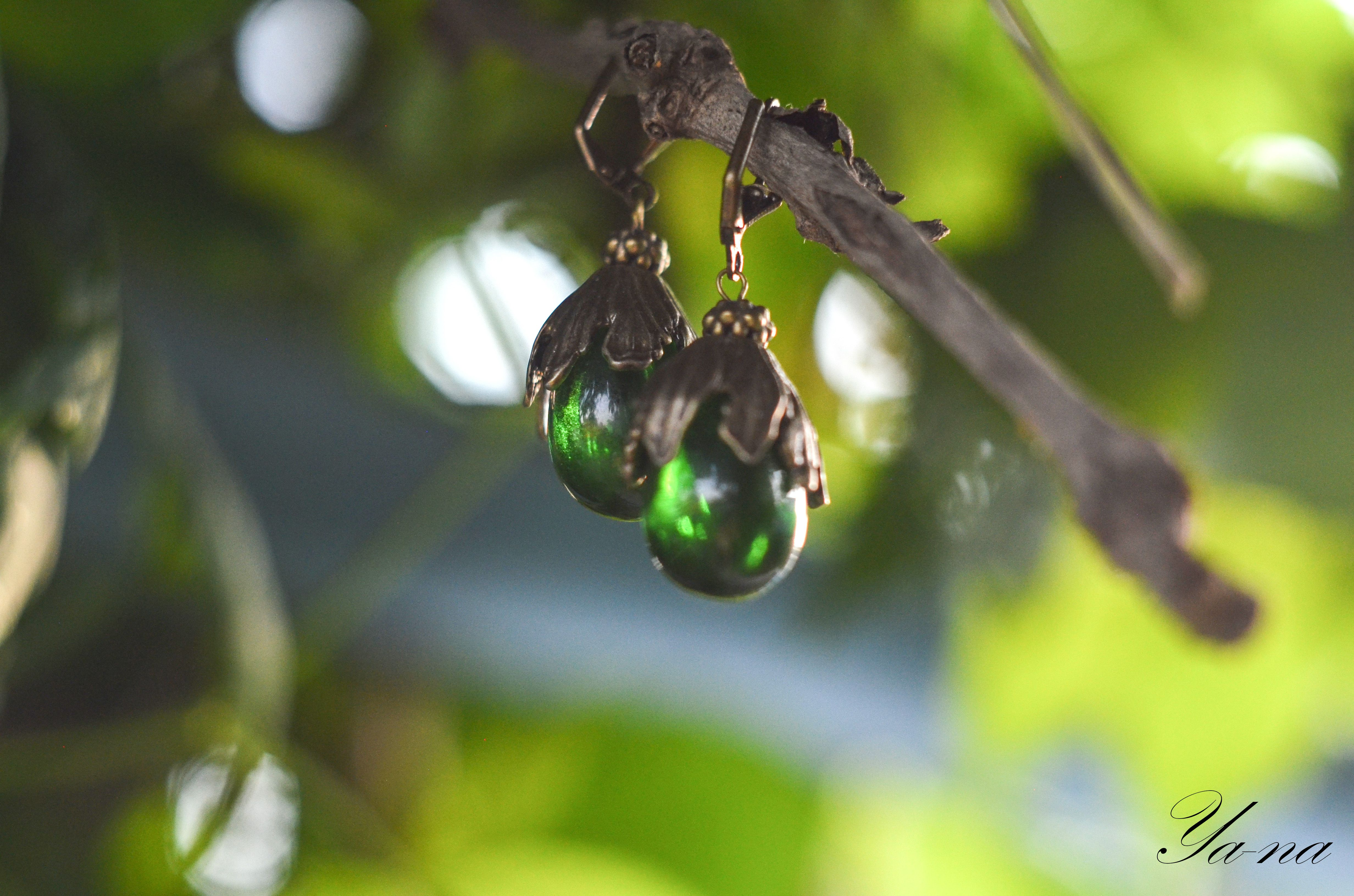 зеленыесерьги ручнаяработа длядевушки новосибирск длялюбимой серьгиподвески серьгивподарок серьгифрукты серьгигруши бижутерия