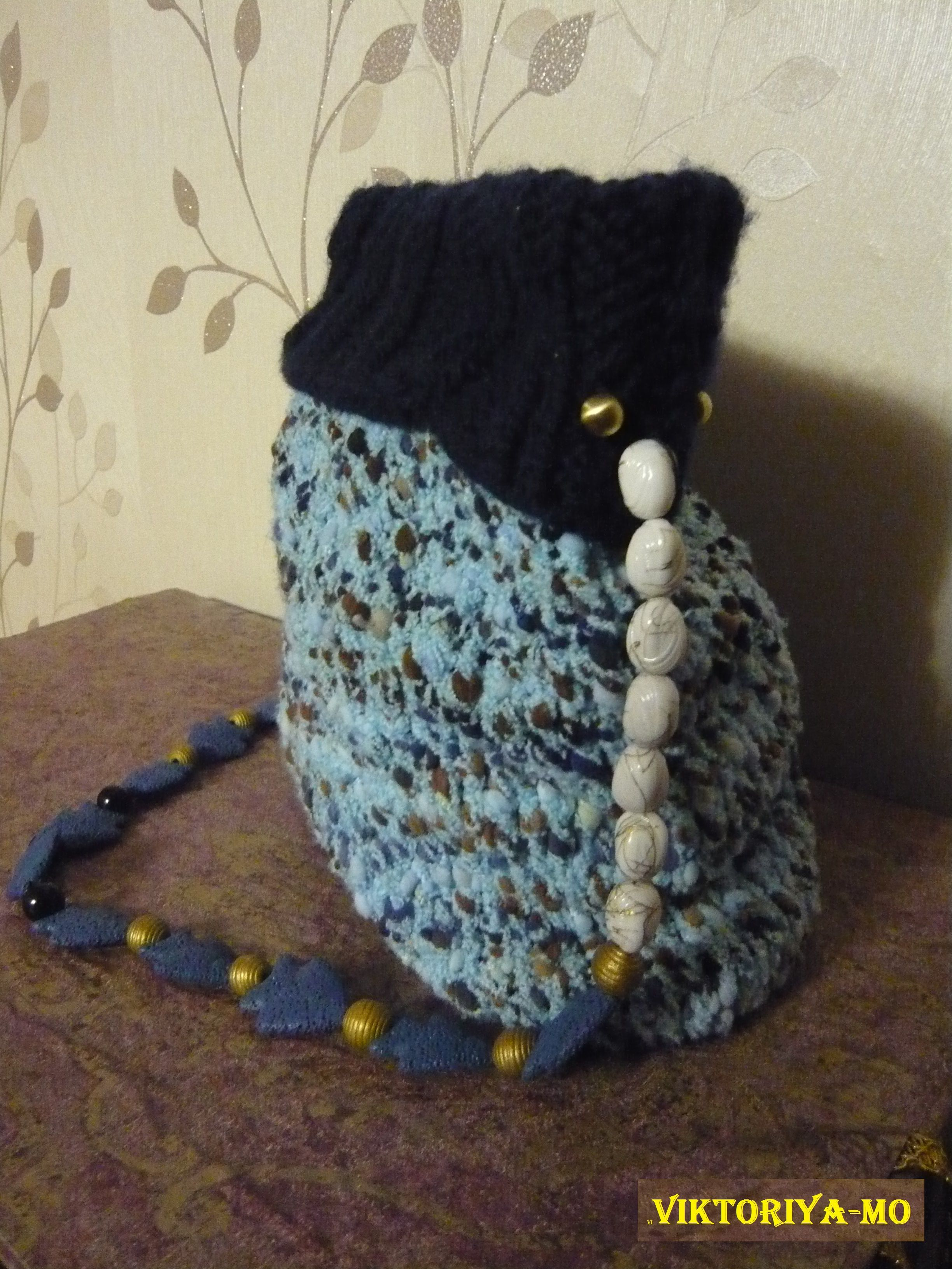 вязание сумка назаказ необычно своимируками оригинально спицы ручнаяработа тёплая