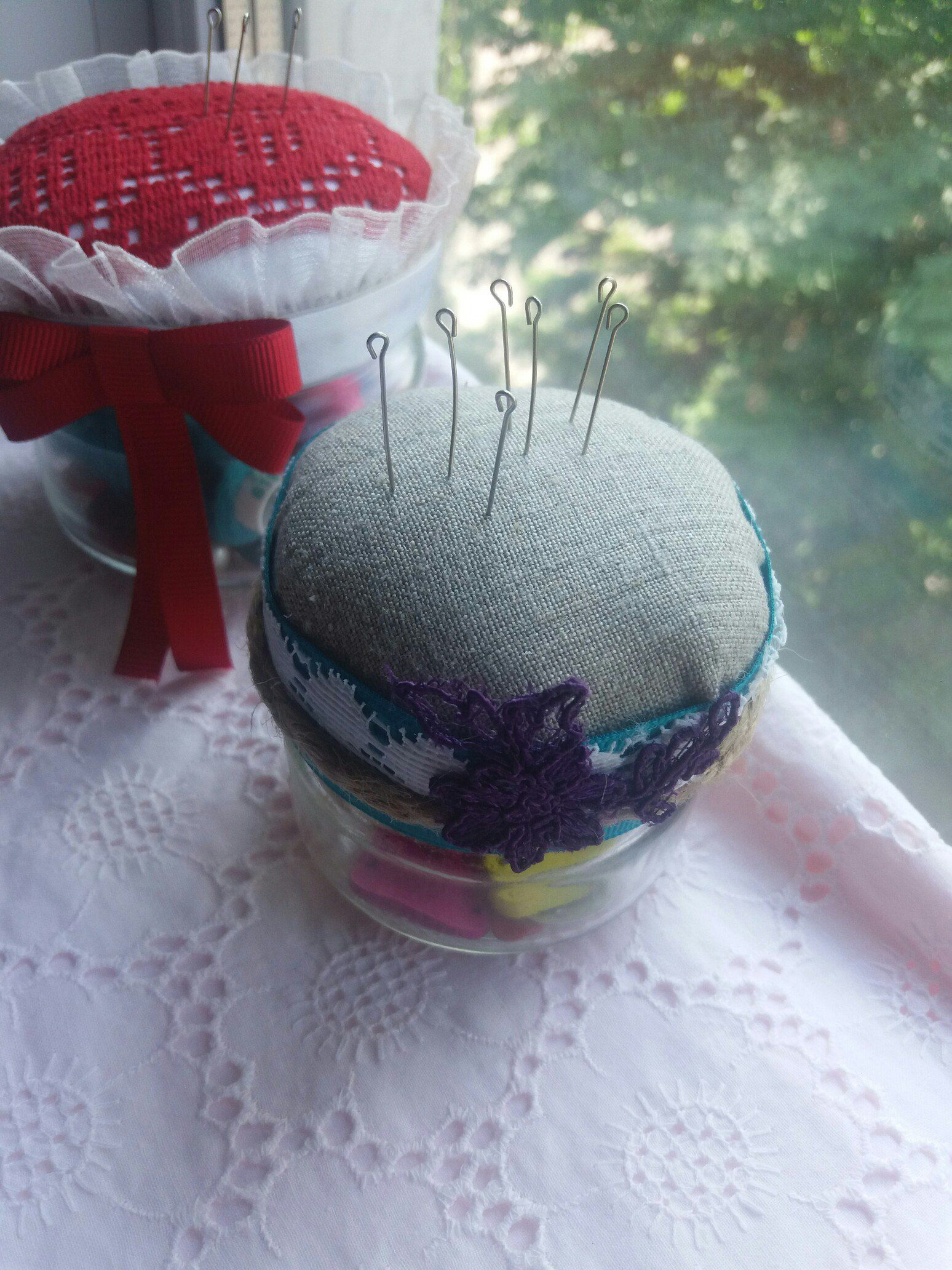 игольница подарок шитье