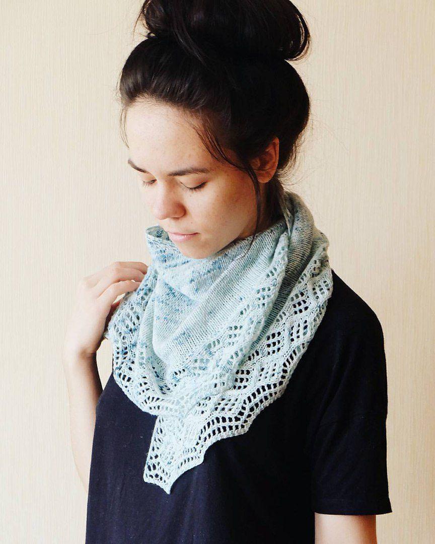 платок shawl knit шейныйплаток вязание вязаное натуральное knitting шаль бактус