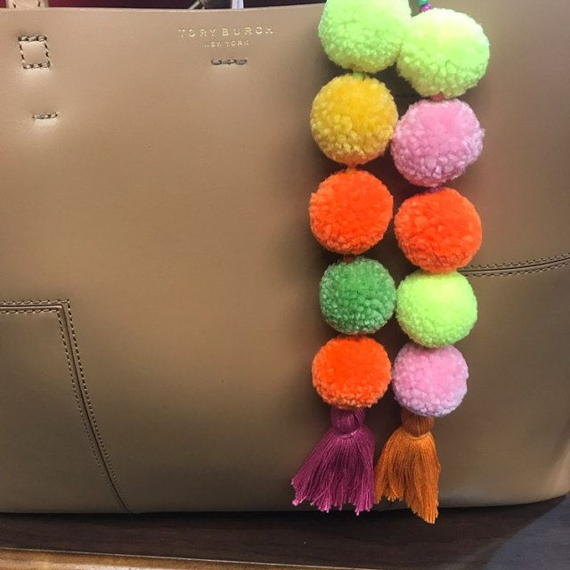 идеи своими помпоны брелки подарка аксессуары для руками сумок украшения сделай сам