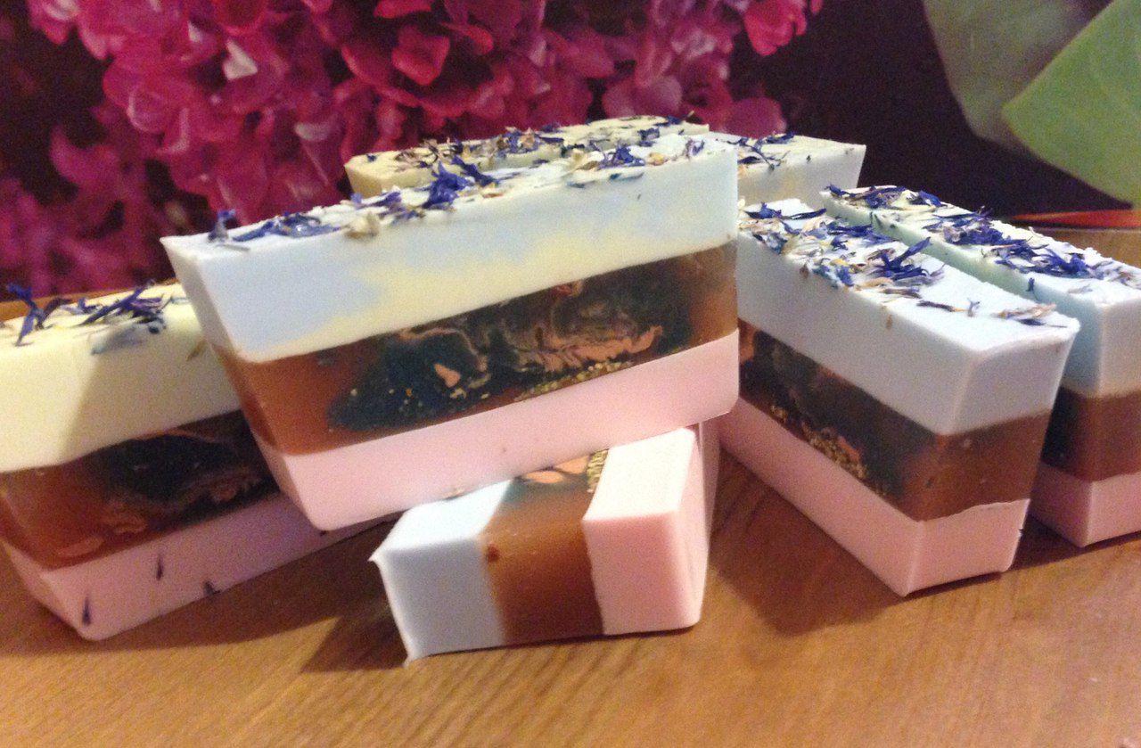 мыло москва мылоручнойработы soap красивоемыло handmade роза земляника