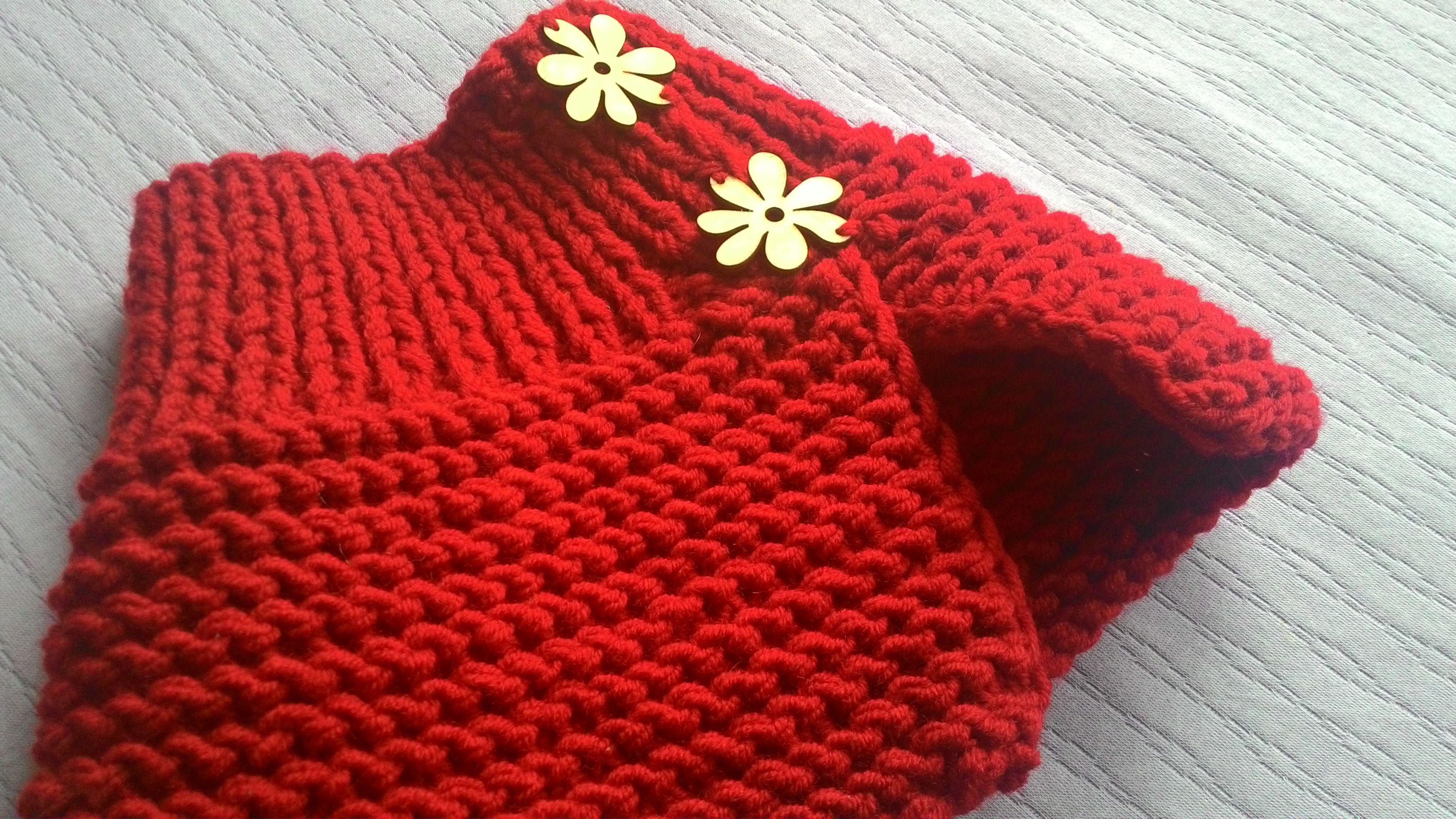 спицами шапочкой девочек одежда для комплект с снудом детская снуд со вязание