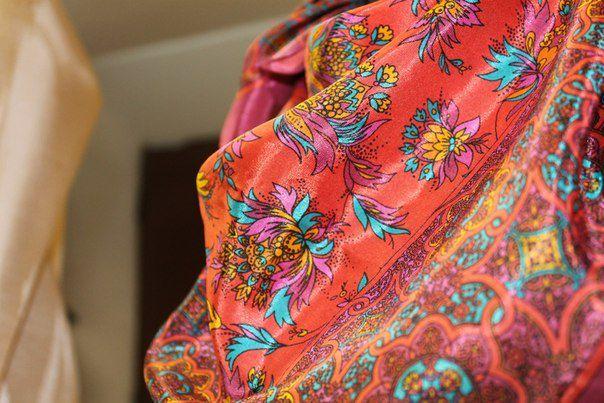 retro аксессуар ретро винтаж шелк vintage платок яркость шелковыйплаток old подарок