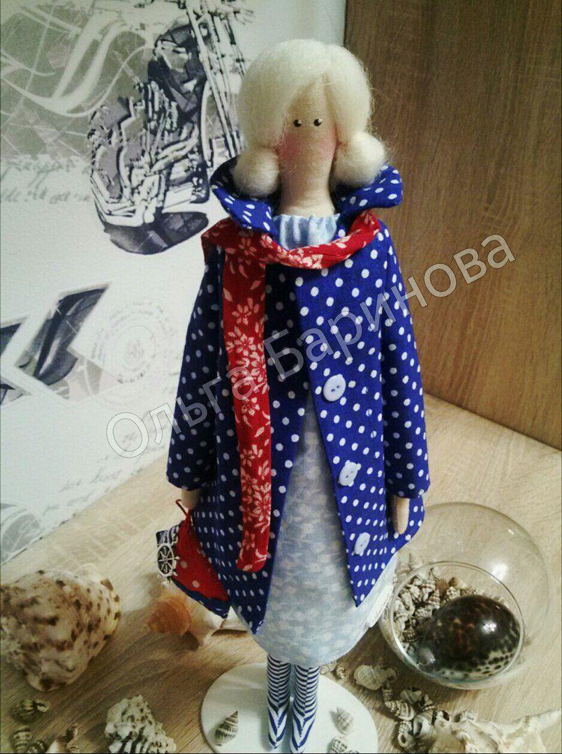 своими тильда интерьерная кукла подарок руками