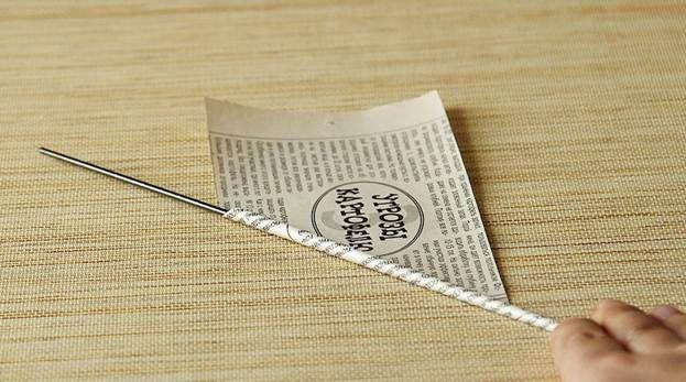Плетение из газет 7