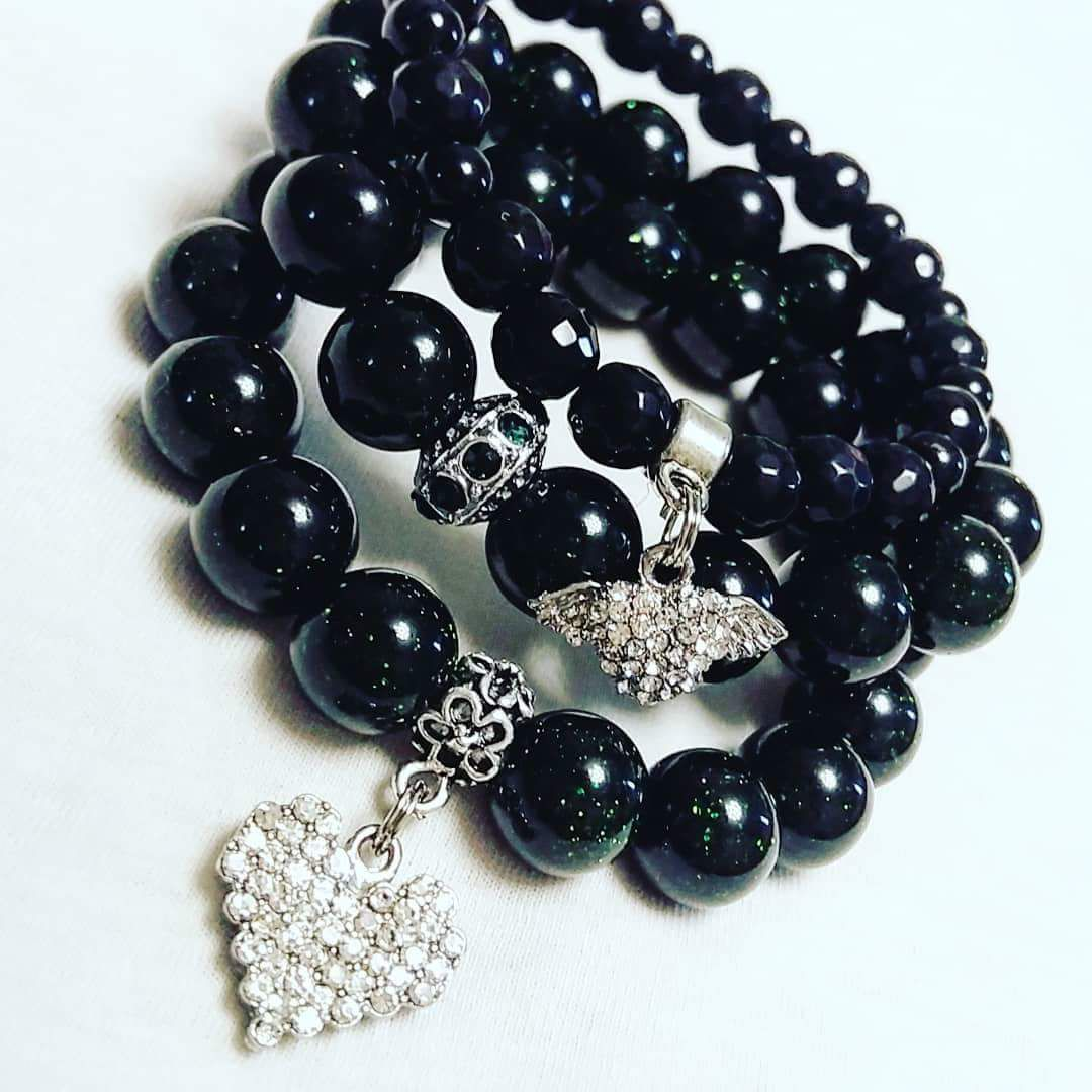 мода браслеты handmade украшения agate