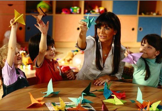 детей для оригами