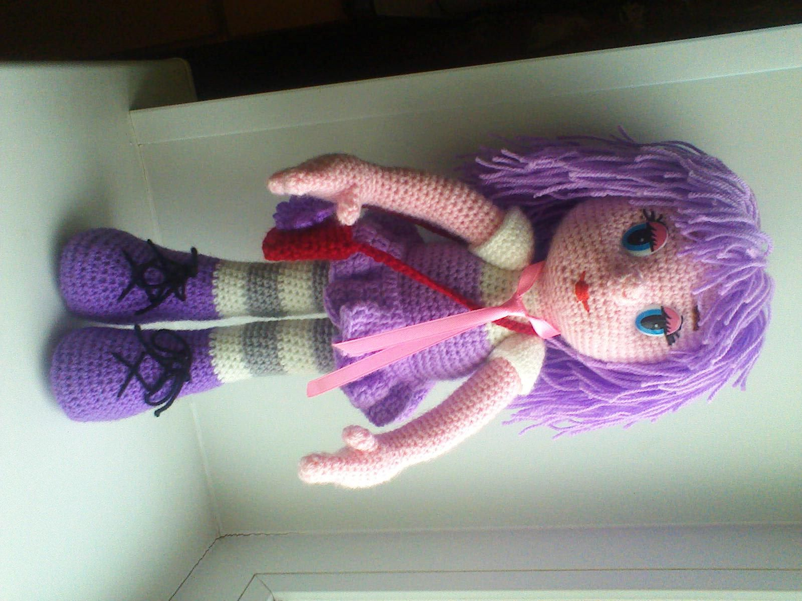 кукланазаказ идеяподарка игрушки рукоделие своимируками вязанаяигрушка творчество