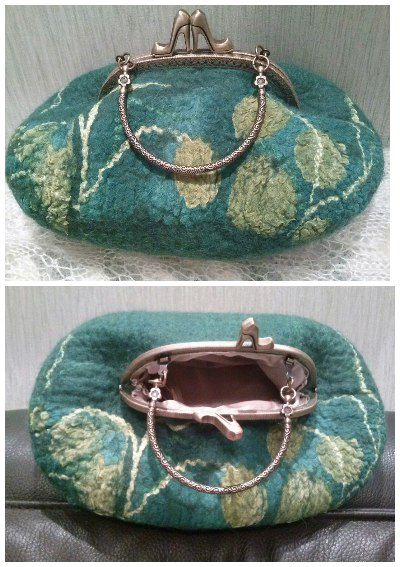 handmade сумкиваляные сумкиизшерсти