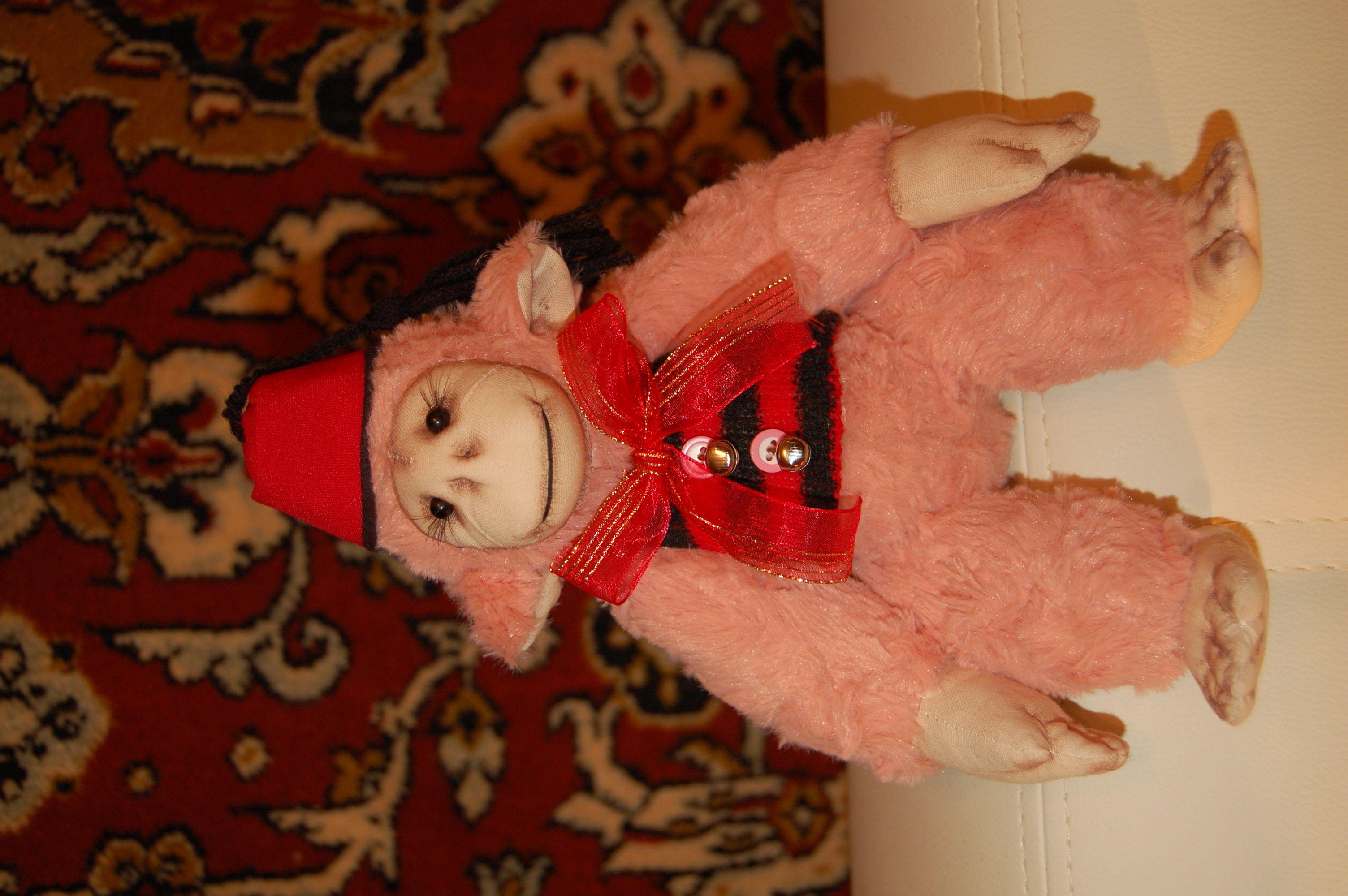 интерьера игрушка украшение тедди ручная обезьяна авторская работа подарок