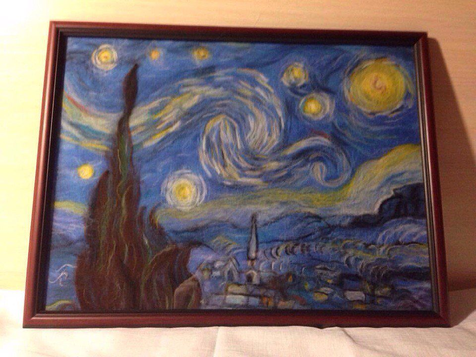 Moma Vincent Van Gogh The Starry Night 1889 - 960×720