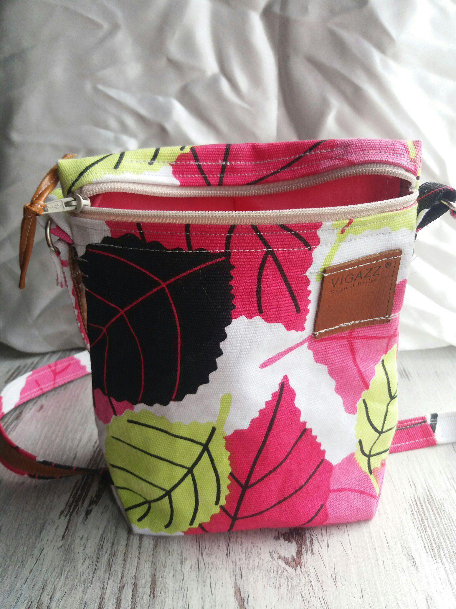 маленькая сумочка текстильная