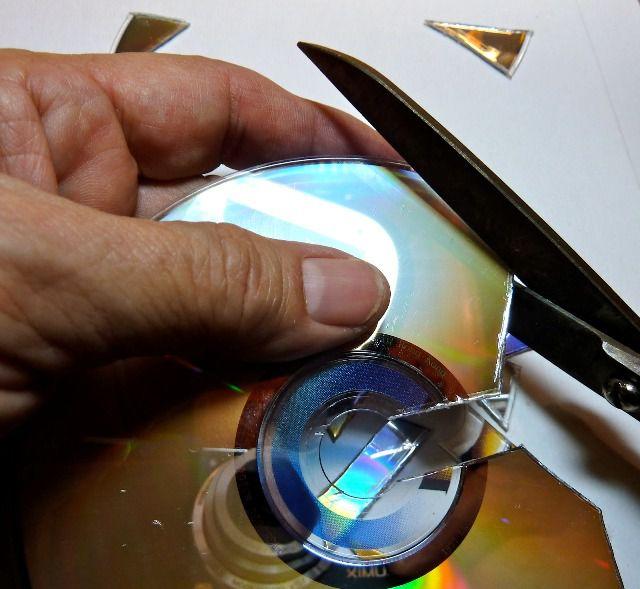 Поделки из дисков своими руками 2