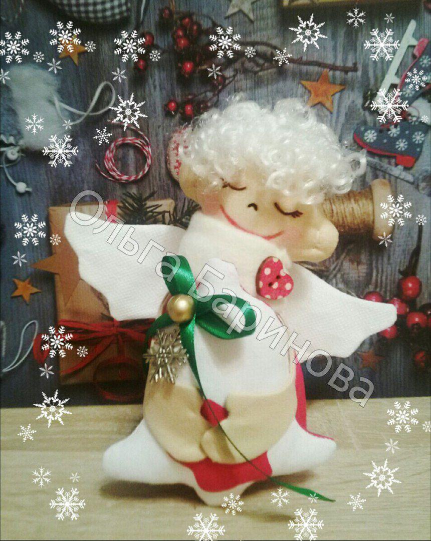 новый своими ангел год праздник руками сюрприз рождество подарок