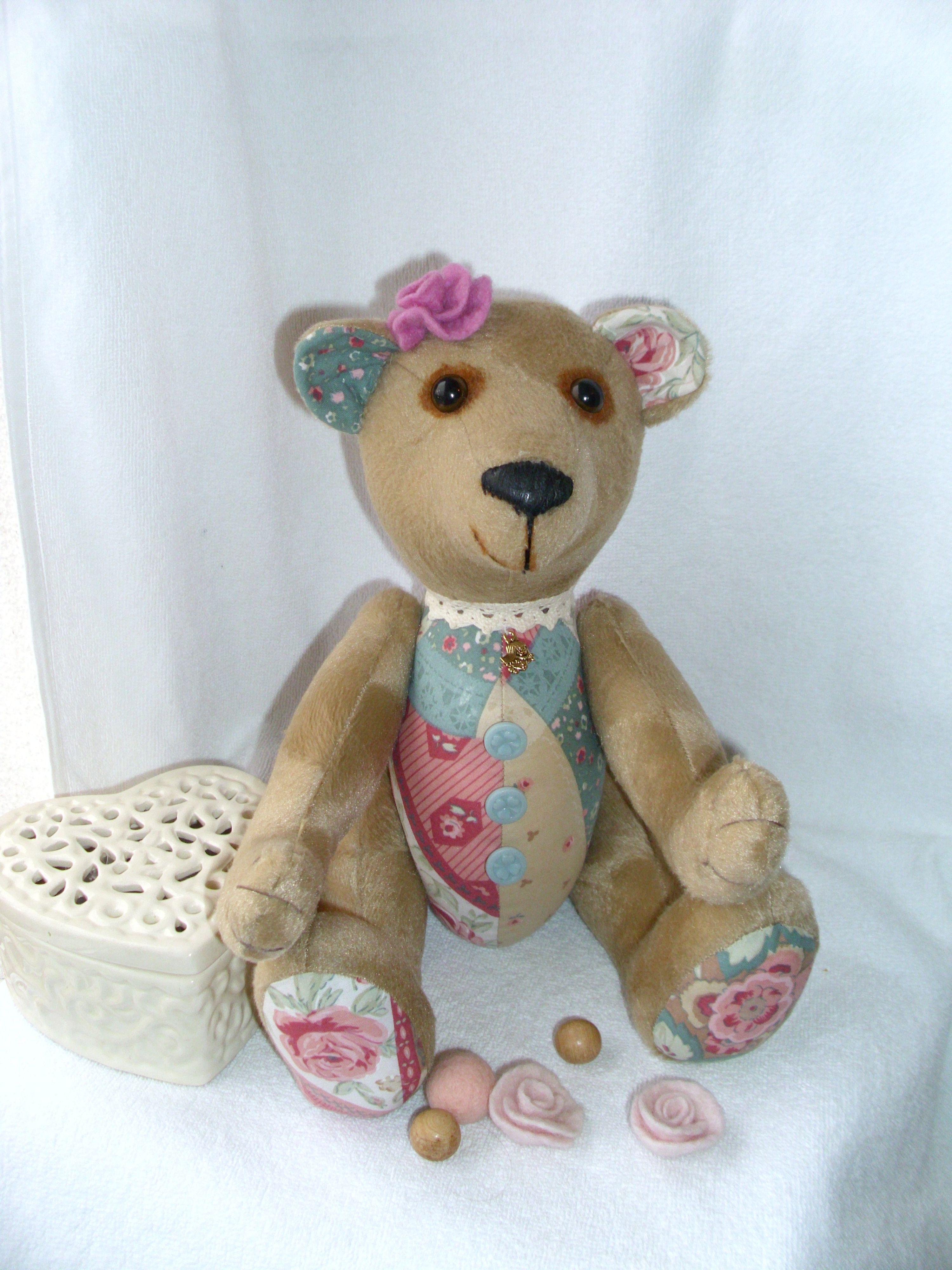 мишка медведь плюшевыймишка из текстильный тэдди хлопка