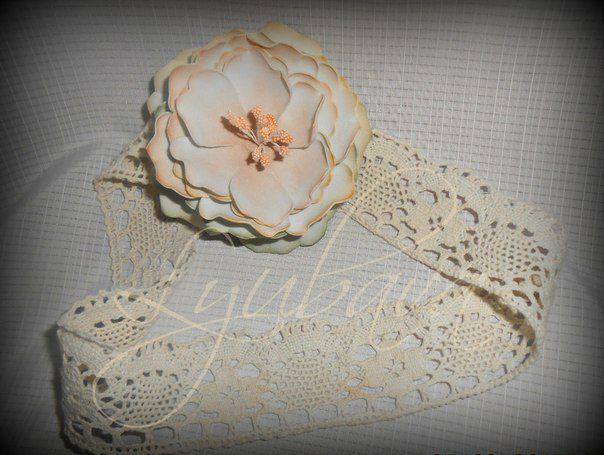 цветы ободок повязка венок