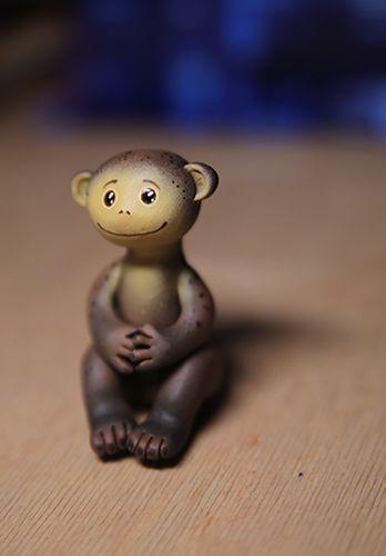 акрил пластик обезьяна мартышка подарок