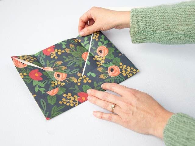 Как сделать подарочную коробку своими руками 12