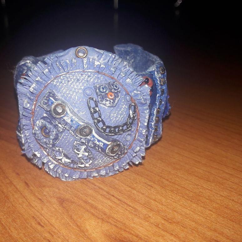 джинс своими полимерная глина женщин любовью для хендмейд руками украшение браслет подарок