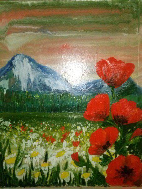 рисование искусство живопись интуитивное дети