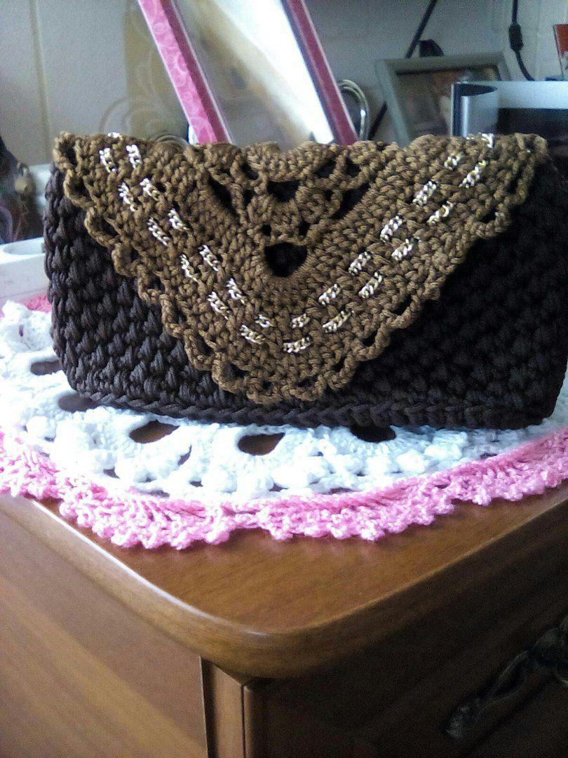подарки крючком рукоделие сумки аксессуары вязаные