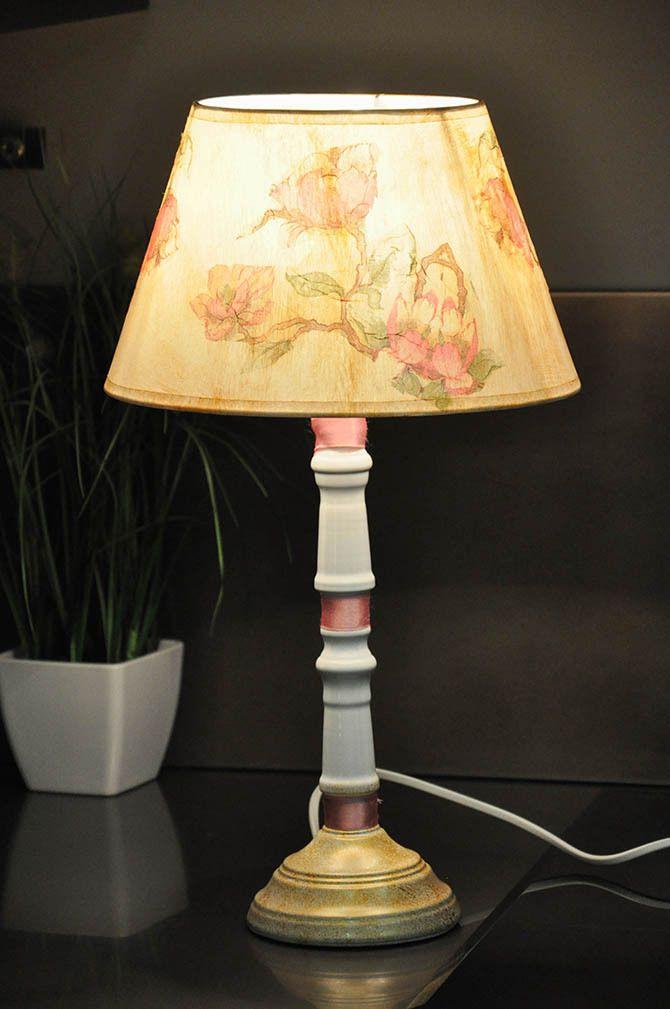 Лампа своими руками 8