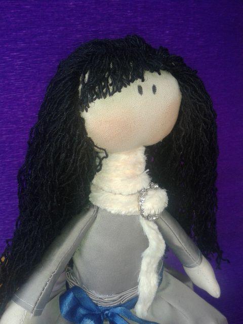 работа ручная кукла текстильная