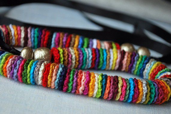 руками сам вязаные бусы дети ожерелья браслеты сделай подарки своими