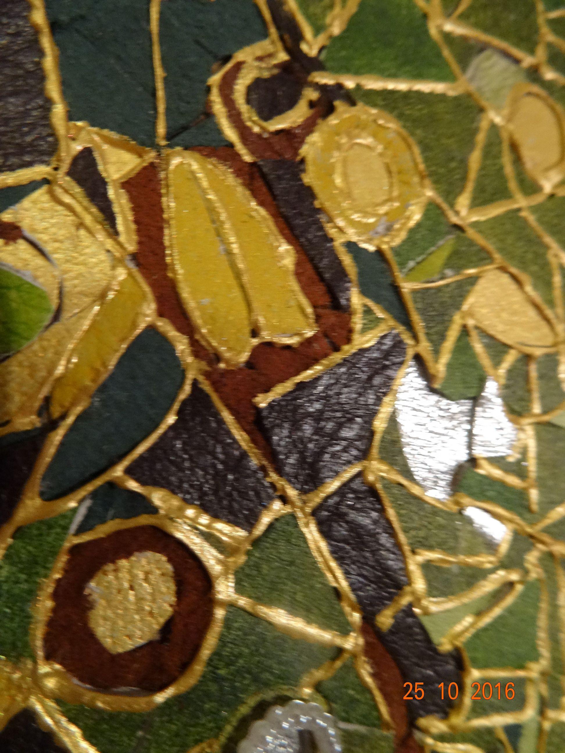 картинаизкожи мозаикаизкожи мозаика одиночество