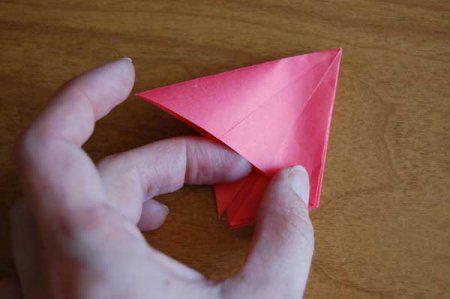 Оригами из бумаги цветы 33