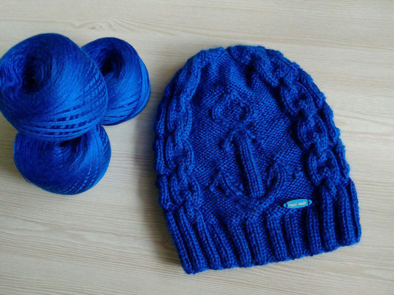 спицами handmade шапка ручнаяработа длядетей назаказ