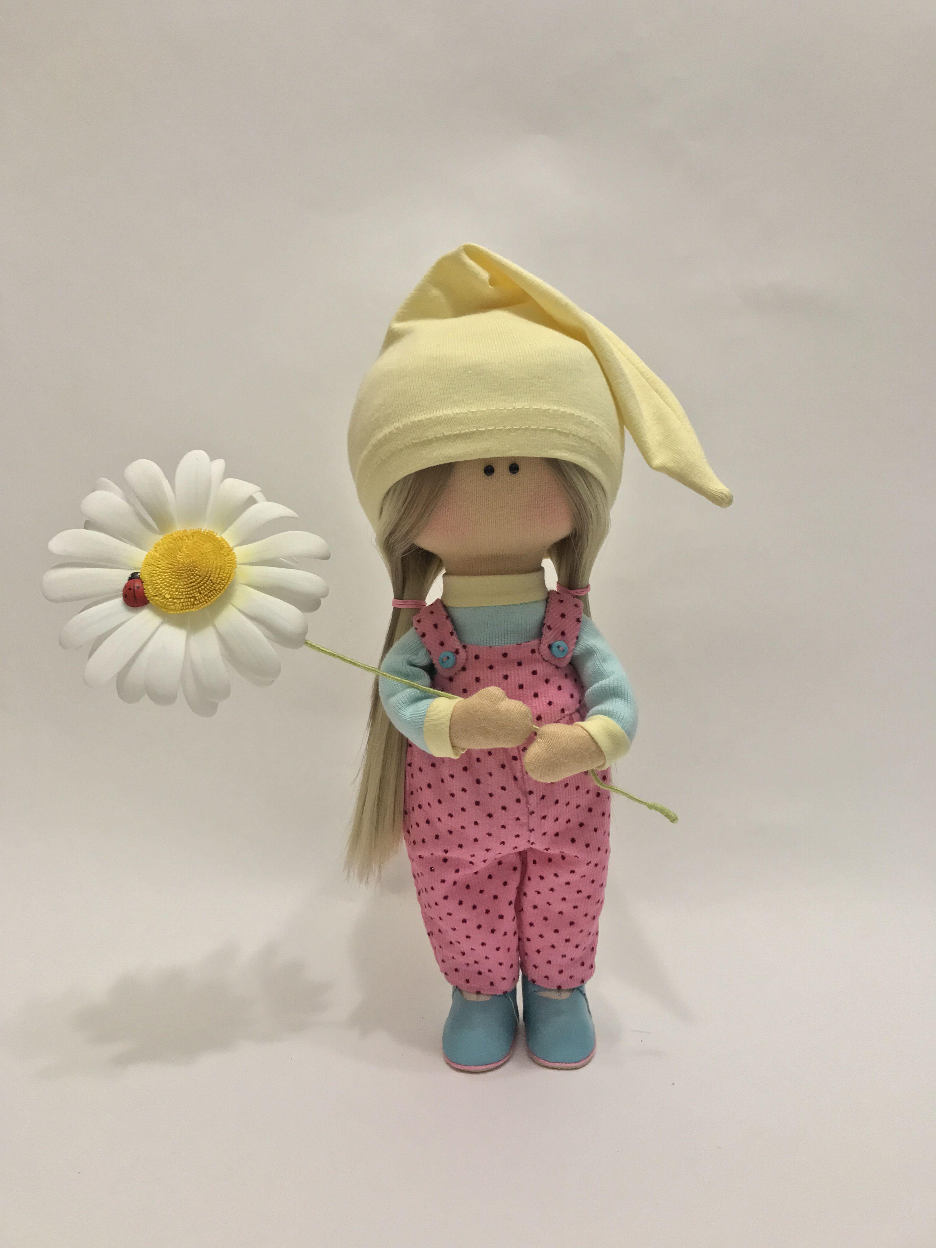 текстильная кукла подарок интерьерная