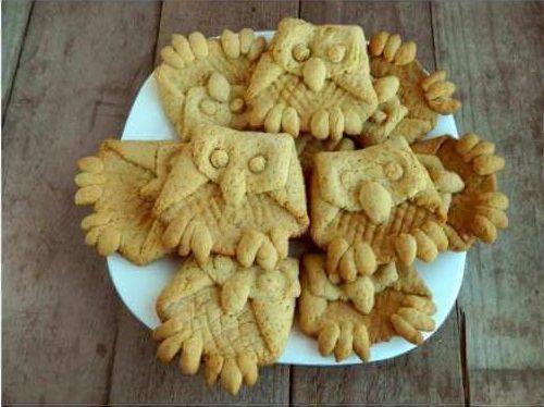печенье домашнее оригинальное сахарное сова