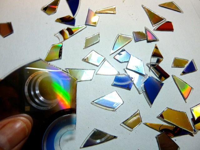 Поделки из дисков своими руками 3