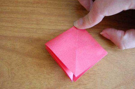 Оригами из бумаги цветы 13