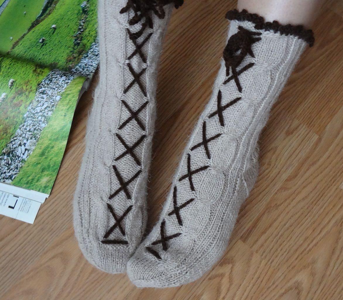 зимнюю высокие мужские под длинные дома зимние домашняя для в вязаные обувь сапожки носки гетры женские подарок шерстяные